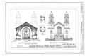 First Reformed Church, North Pearl and Orange Streets, Albany, Albany County, NY HABS NY,1-ALB,11- (sheet 3 of 8).png