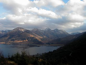 Kintail - Five Sisters of Kintail from Màm Ratagan