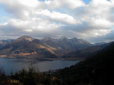 五姉妹山、2003年撮影。