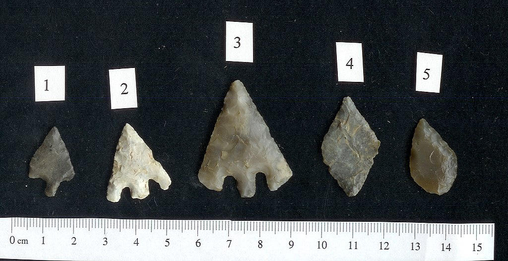 flint arrowhead dating