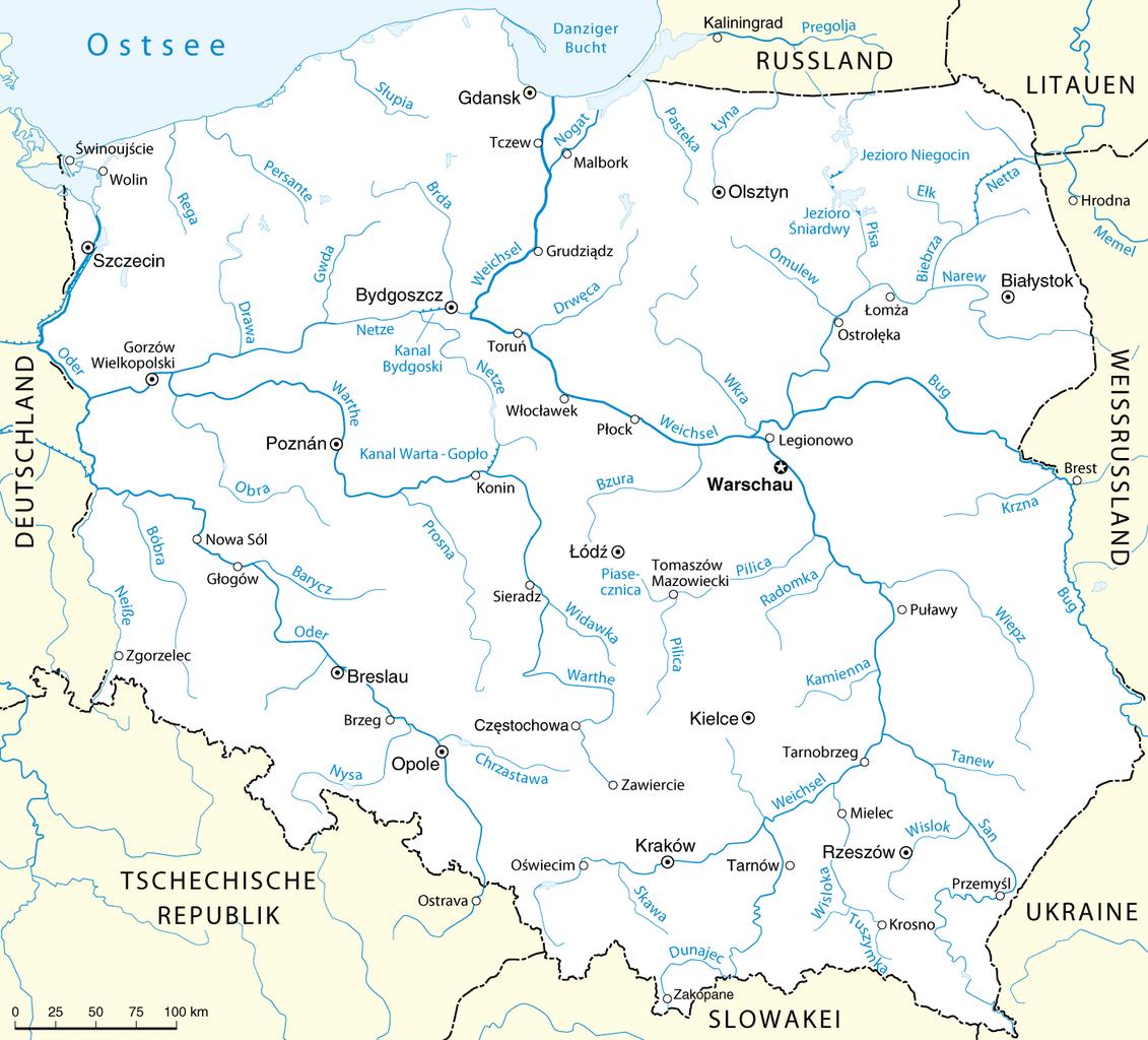 File:Flüsse in Polen (Karte).png - Wikimedia Commons