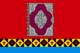 Flag of Ust-Tcilemsky rayon (Komia).png