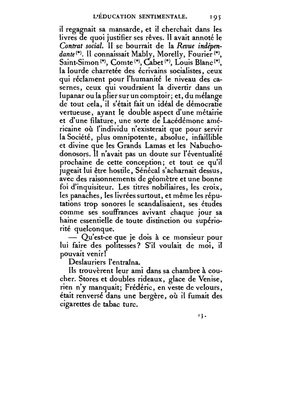 Page:Flaubert - L\'Éducation sentimentale éd. Conard.djvu/199 ...