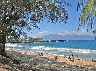 Kapalua, Hawaii - D. T. Fleming Park at Honokahua Bay