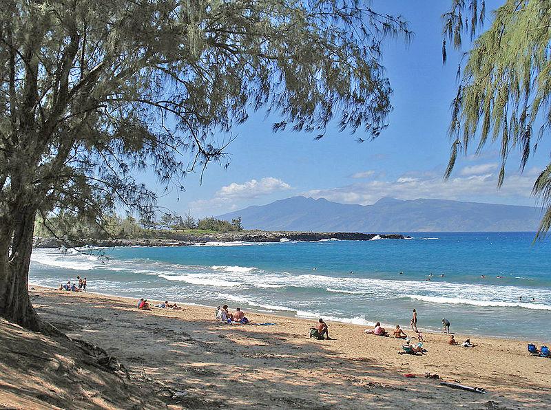 File:Fleming Beach, Maui.jpg