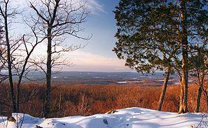 Frelinghuysen Township, New Jersey - Vista from Jenny Jump Mountain