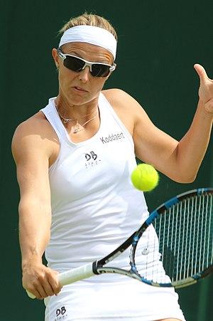 Kirsten Flipkens - Flipkens at the 2017 Wimbledon Championships