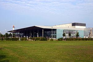 Münster Osnabrück International Airport - Image: Flughafen Münster Osnabrück 8749