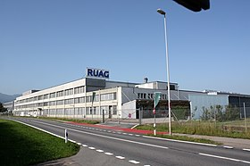 illustration de RUAG Holding AG