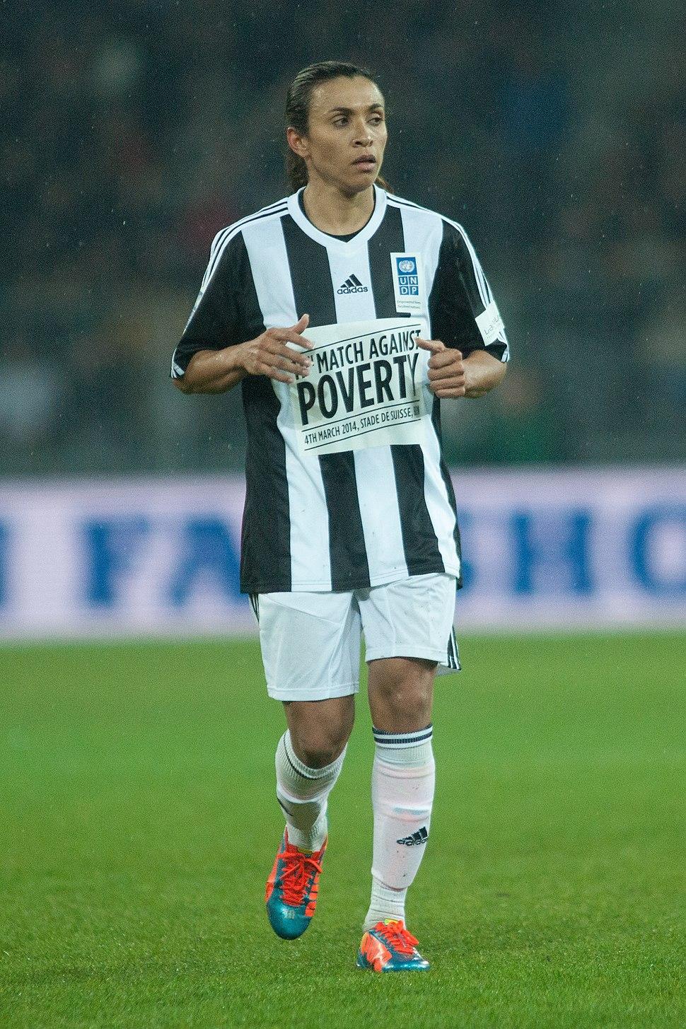 Football against poverty 2014 - Marta (2)
