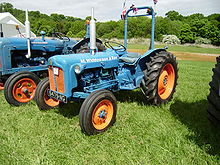 Px Ford Tractor With Rops Bar Fitted