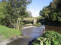 Ford and footbridge at Newmill - geograph.org.uk - 258012.jpg
