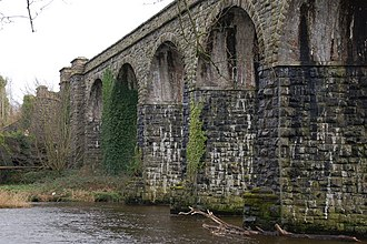 Randalstown - Image: Former railway viaduct at Randalstown (1) geograph.org.uk 347159