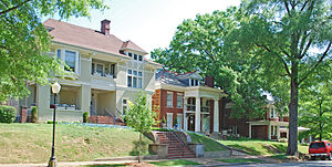 Fort Wood Historic District - Houses on Vine Street
