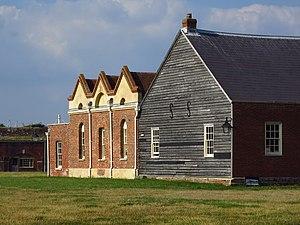 Fort Cumberland (England) - Image: Fort Cumberland former hospital