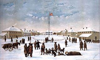 Fort Garry human settlement in Canada