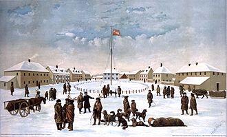 Fort Garry - Fort Garry in 1884