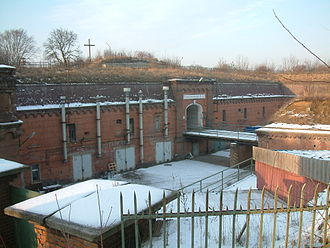 Fort VII - View of the main entrance