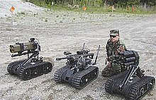 Foster Miller TALON SWORDS Units Military Robot Equipped With Various Weaponry