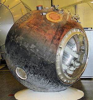 BIOPAN - Foton-12 capsule on display