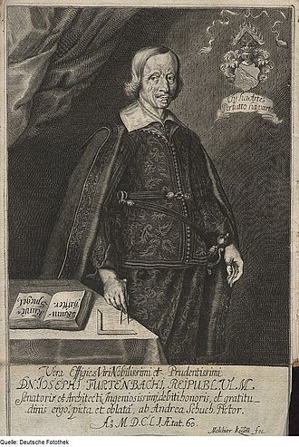 Joseph Furttenbach - Portrait of Joseph Furttenbach