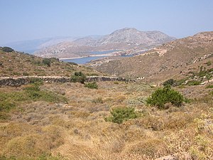 Fournoi Korseon - Looking from Fourni Island to Thymaina and Icaria