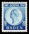 Fr. Zone Baden 1949 49 Johann Wolfgang von Goethe.jpg