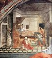 Fra Filippo Lippi - St Stephen is Born and Replaced by Another Child (detail) - WGA13263.jpg