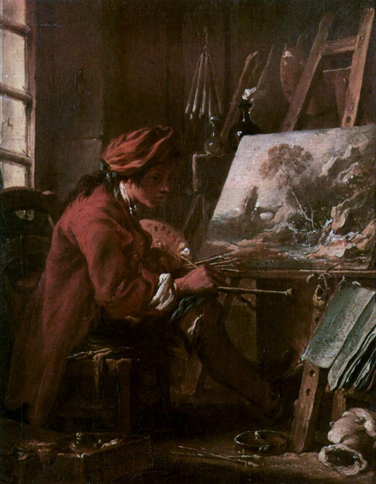 Fran ois boucher wikipedia for Boucher peintre