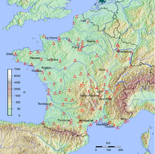 Sisteron France Map.List Of Airports In France Wikipedia