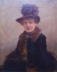 Retrat de dona (Francesc Miralles)