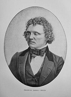 Francis James Child American folklorist