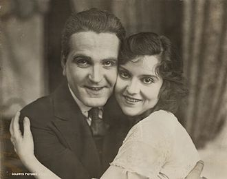 Frank Morgan - Morgan and Madge Kennedy in Baby Mine (1917)
