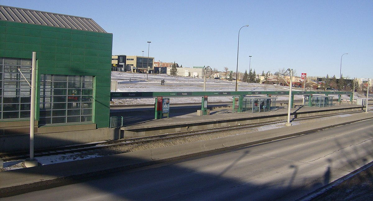 Center Line Mi >> Franklin station (Calgary) - Wikipedia