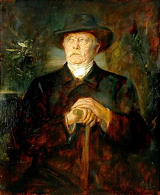 Modernism - A Realist portrait of Otto von Bismarck. The modernists condemned realism