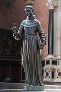 Frari (Venice) nave left - Statue of St.Antony by Girolamo Campagna 1609.jpg