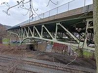Pont de la rue Frazier depuis Oakland end.jpg
