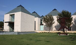 Fred Jones Jr. Museum of Art - Image: Fred jones museum