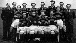 Boldklubben Frem - Frem's squad of the 1943–1944 championship-winning season.