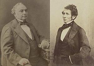 Péreire brothers - Émile and Isaac Péreire