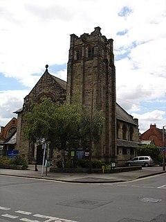 Friary United Reformed Church, West Bridgford Church in Nottingham, England