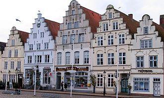 Friedrichstadt - Image: Friedrichstadt markt 2004
