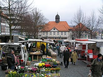 Produce - A produce market in Germany