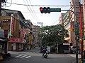 FuShing Road and ShuDe Street intersection, Shulin City 20100104.jpg