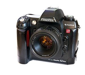FinePix S2 Pro - A Fujifilm FinePix S2, with a Nikon 50mm f/1.8D.