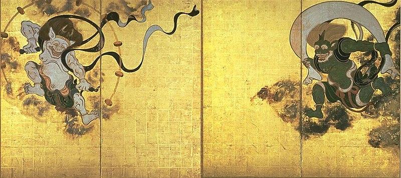 https://upload.wikimedia.org/wikipedia/commons/thumb/1/10/Fujinraijin-tawaraya.jpg/800px-Fujinraijin-tawaraya.jpg