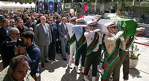 Bahman Golbarnezhad - Funeral of Golbarnezhad in Tehran, 22 September 2016