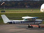 G-BAYO Cessna 150 C-O Flywales (30555750041).jpg