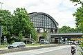 G20-Gipfel - Polizeipräsenz Bahnhof Dammtor 2017 01.jpg