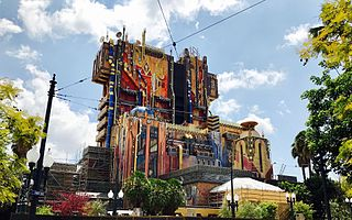 <i>Guardians of the Galaxy</i> – Mission: Breakout! attraction at Disney California Adventure
